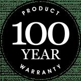 100 YEAR WARRANTY